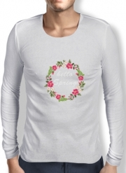 T-Shirt homme manche longue HELLO SPRING