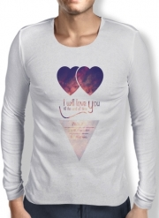 T-Shirt homme manche longue I will love you