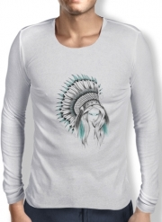 T-Shirt homme manche longue Indian Headdress