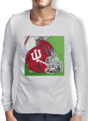 Mens Long Sleeve T-shirt Indiana College Football