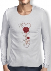 T-Shirt homme manche longue Key Of Love