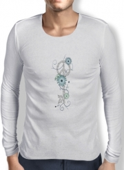 T-Shirt homme manche longue Key To Peace