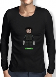 Mens Long Sleeve T-shirt Lego: X-Men feat Wolverine