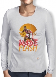 T-Shirt homme manche longue NBA Legends: Dwyane Wade
