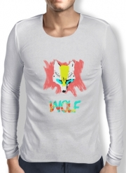 T-Shirt homme manche longue Nika Wolf