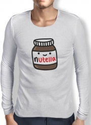 Mens Long Sleeve T-shirt Nutella