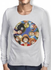 Mens Long Sleeve T-shirt One Piece CREW