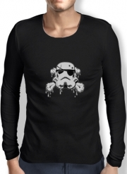 Mens Long Sleeve T-shirt Pirate Trooper