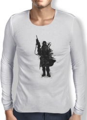 T-Shirt homme manche longue Post Apocalyptic Warrior