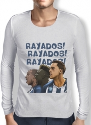 T-Shirt homme manche longue Rayados Tridente