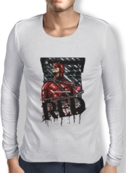 T-Shirt homme manche longue Red