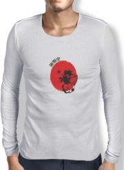 T-Shirt homme manche longue Red Sun Young Monkey