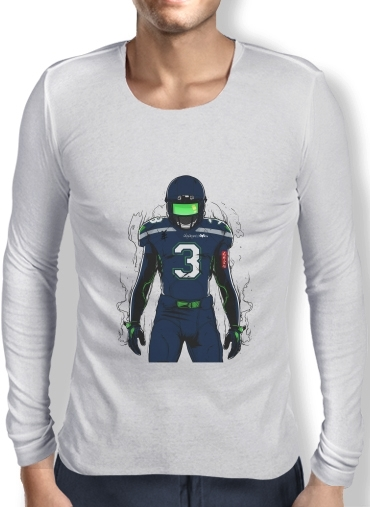 Mens Long Sleeve T-shirt SB L Seattle