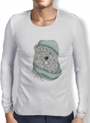 Mens Long Sleeve T-shirt Shaggy Dog