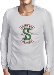 Mens Long Sleeve T-shirt South Side Serpents