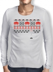 T-Shirt homme manche longue Space Invaders