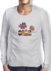 T-Shirt homme manche longue The Big Minion Theory
