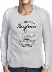 T-Shirt homme manche longue The Fighting Gentleman