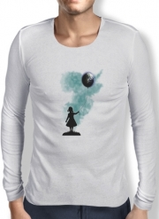 T-Shirt homme manche longue The Girl That Hold The World