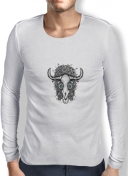 Mens Long Sleeve T-shirt The Spirit Of the Buffalo