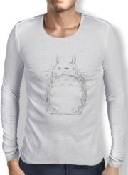 Mens Long Sleeve T-shirt Poetic Creature
