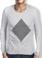 Mens Long Sleeve T-shirt Waves 1
