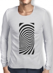 Mens Long Sleeve T-shirt Waves 3