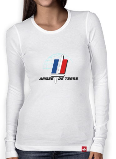 T-Shirt femme manche longue Armee de terre - French Army