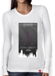 T-Shirt femme manche longue Flag House Dondarrion