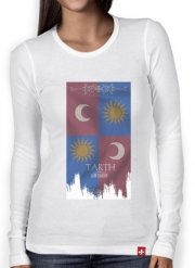 T-Shirt femme manche longue Flag House Tarth