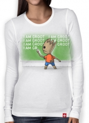 T-Shirt femme manche longue Bart Punition - Je s'appelle groot