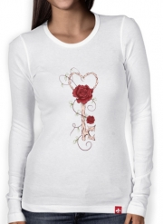 T-Shirt femme manche longue Key Of Love