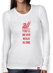 T-Shirt femme manche longue Liverpool Maillot Football Home 2018