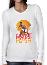 T-Shirt femme manche longue NBA Legends: Dwyane Wade