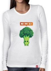T-Shirt femme manche longue Nobody Loves Me - Vegetables is good