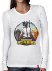 T-Shirt femme manche longue playerunknown's battlegrounds PUBG