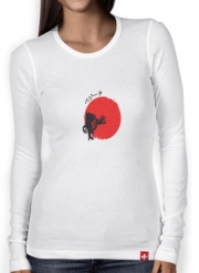 T-Shirt femme manche longue Red Sun The Prince