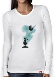T-Shirt femme manche longue The Girl That Hold The World
