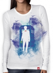 T-Shirt femme manche longue Who Space