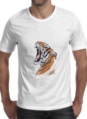 T-shirt short sleeve round neck  Animals Collection: Tiger