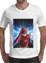 T-shirt short sleeve round neck  At the speed of light