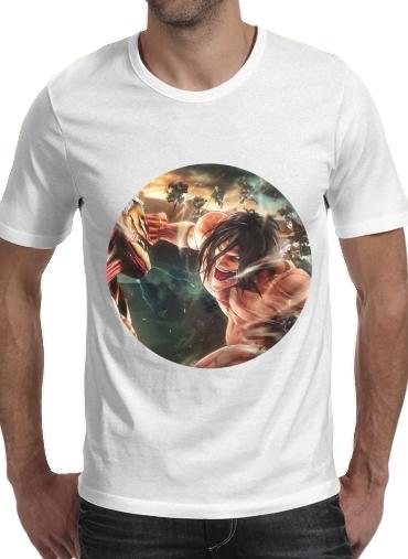 T-Shirts Attack on titan - Shingeki no Kyojin
