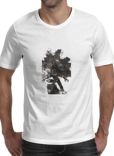 T-Shirts Black Panther Abstract Art Wakanda Forever
