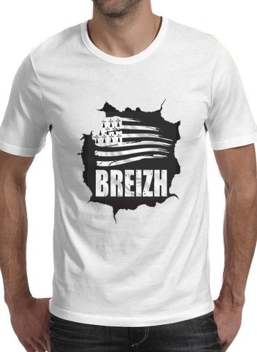 Breizh Bretagne dla Men T-Shirt