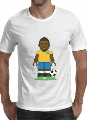 T-shirt short sleeve round neck  Bricks Collection: Brasil Edson