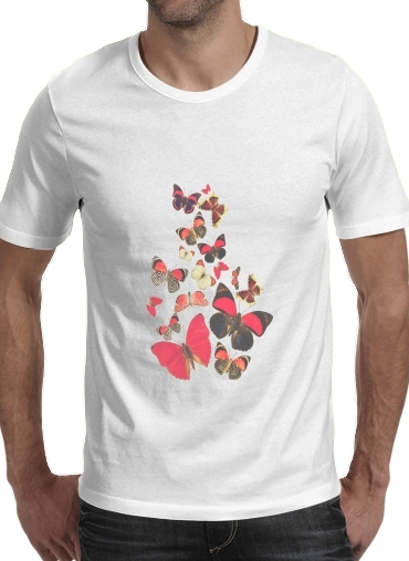 T-shirt short sleeve round neck  Come with me butterflies