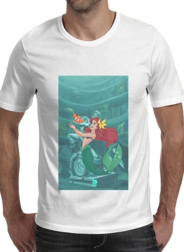 T-shirt short sleeve round neck  Disney Hangover Ariel and Nemo