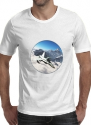 T-shirt short sleeve round neck  F-18 Hornet