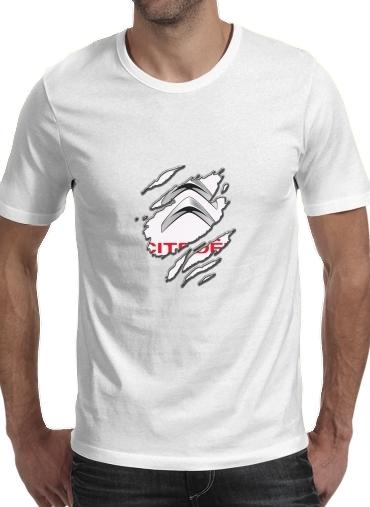 T-Shirts Fan Driver Citroen Griffe