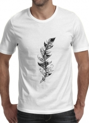 T-shirt short sleeve round neck  Feather